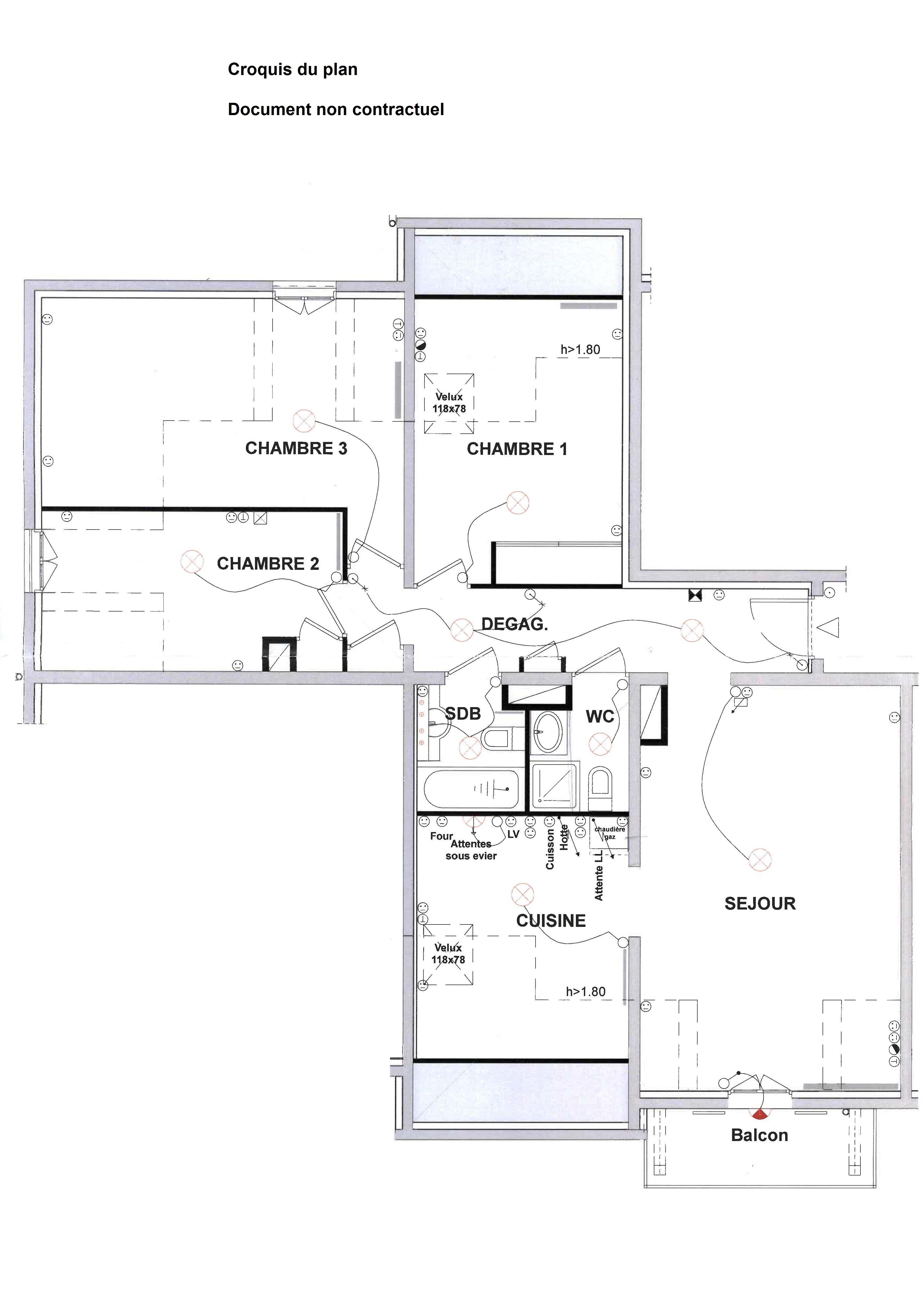 vente appartement t4 saint gervais les bains 74170 proche centre. Black Bedroom Furniture Sets. Home Design Ideas